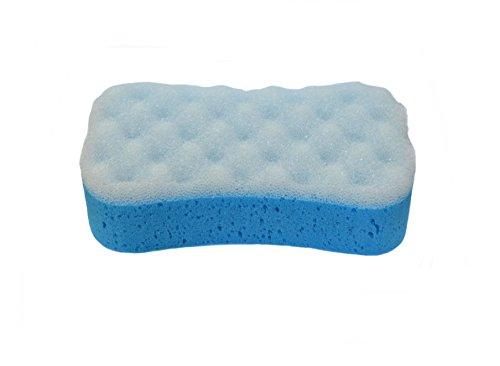 * Badeschwamm Schwamm Massageschwamm aus mehreren farben wählbar (blau)