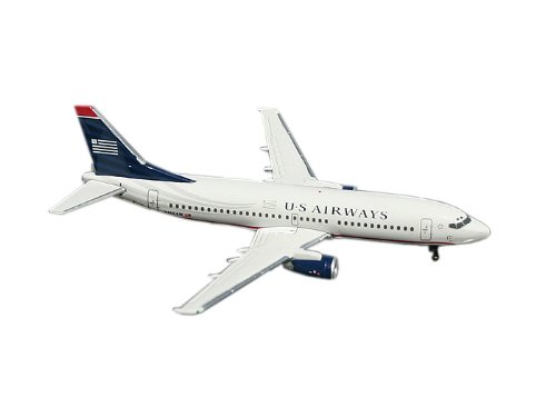 Gemini Jets US Airways B737-300 1:400 Scale