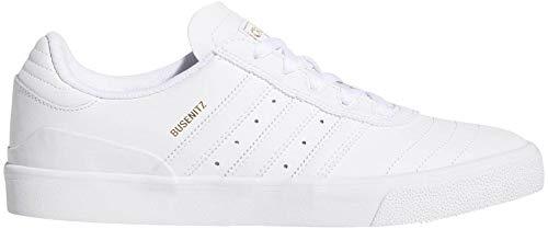 adidas Skateboarding Men's Busenitz Vulc Footwear White/Footwear White/Gold Metallic 12 D US