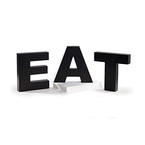 Ohio Wholesale Everyday Collection EAT Letters, Set of 3 (Eat Decor Wall)