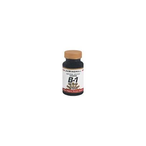 Windmill Vitamin B-1 100 mg 100 Tablets - 2