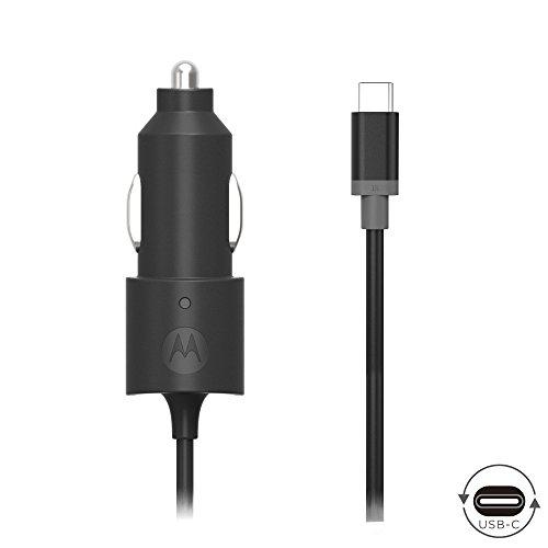 Motorola TurboPower 15 USB-C (Type C) Car Charger for Moto Z Play/Droid/Force, Z2 Play/Force, Z3 Play, X4, G6, G6 Plus, USB C devices - (Retail Box) by Motorola (Image #2)