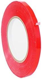 抱くupvc-24bsカラーProduceポリバッグシーリングテープ(複数のサイズと色でも使用可能: 180ヤード。 1/2 in. (Pack of 10) レッド