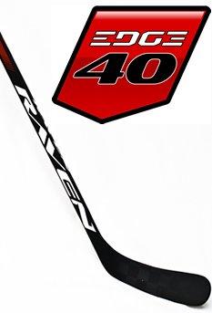 Hockey Grip Shaft (Raven Hockey EDGE 40, C19 curve (Backstrom), 3K Carbon Shaft (Matte Grip), 25X Blackmond Dual-Core Blade (left))