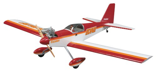 Great Planes Escapade Radio Controlled Glow or Electric Powered 52.5 Inch Almost-Ready-to-Fly Sport (Arf Plane)