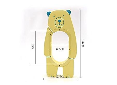 Birthday Party Yellow Bear eSTAR Little Bear Batman Hand Painted Wood Piggy Money Saving Coin Bank for Kids