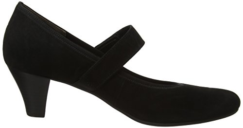 Negro de para Mujer Zapatos 17 Gabor Fashion Tacón Shoes schwarz qtxw7Bpf0