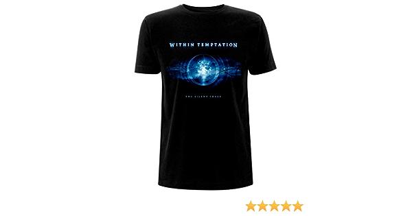 Black T-Shirt Within Temptation /'Silent Force/' NOUVEAU ET OFFICIEL!