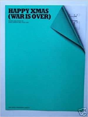 Happy Christmas War Is Over Chords.Happy Xmas War Is Over Sheet Music Piano Vocal Guitar