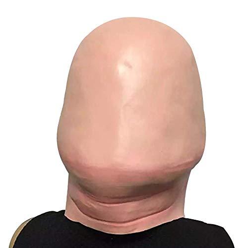 lightclub Funny Latex Head Mask Halloween Prank Joking