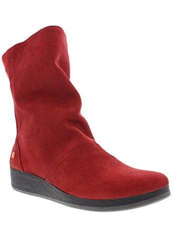 Softinos Damen Ann417sof Stiefel Rot