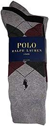 Best Discount Polo Ralph Lauren Men Set Of Three Argyle Dress Socks Size 10 13