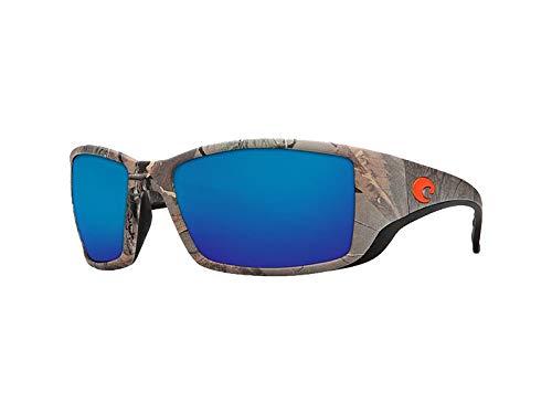 Costa Del Mar Blackfin Sunglasses - Realtree Xtra Camo Frame - Blue Mirror 580G ()
