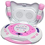 Best HELLO KITTY Cd Player With Speakers - Hello Kitty KT2003B CD Karaoke System and CD Review