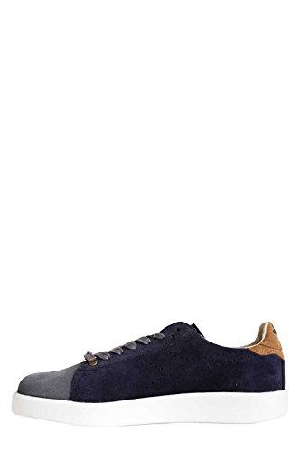 Uomo H Kidskin Blu Game Heritage Diadora Sneakers Blue Suede 5Fqw6O