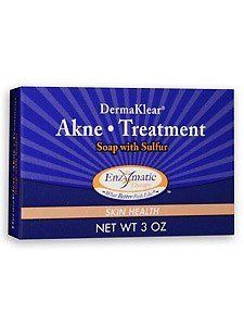 Enzymatic Therapy - DermaKlear Akne Treatment Soap with Sulphur, 3 oz (Pack of 3)