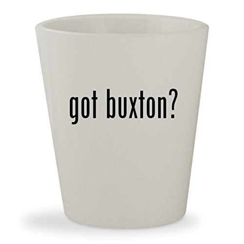 got buxton? - White Ceramic 1.5oz Shot (Bi Fold Padfolio)