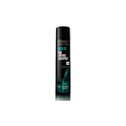 (3 Pack) L'oreal Hairstyle LOCK IT Fine Control Hairspray 48 Hour Hold