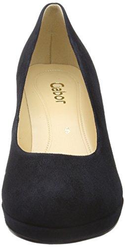 Gabor Shoes Fashion, Sandalias con Plataforma para Mujer Azul (pazifik LFS Natur)