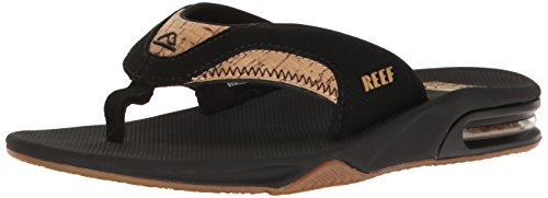 Reef Mens Leather Fanning Sandal