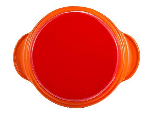 BERGNER-Eros-Cast-Iron-Tajine-Pot-with-Lid-28-cm-800-ml-Induction-Base-Orange
