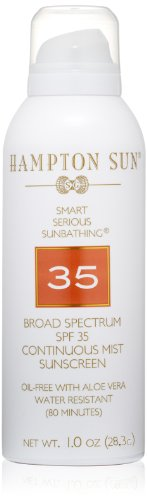 Hampton Sun SPF 35 Continuous Mist Sunscreen, 1 (Hampton Cologne)