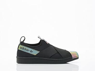 Amazon.com | Adidas Originals Women's Rita Ora Superstar Slip-On Sneakers  S82793, 9 | Fashion Sneakers
