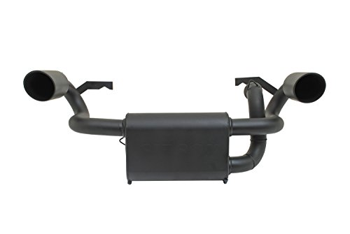 (Gibson 98024 Black Ceramic Dual Exhaust System)
