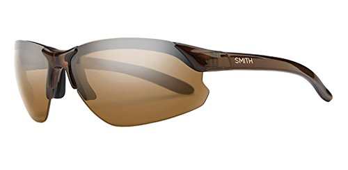 Smith Optics Parallel D-Max Premium Performance Rimless Polarized Outdoor Sunglasses - Brown/Brown / Size - Smith Polarized Sunglasses Parallel Max
