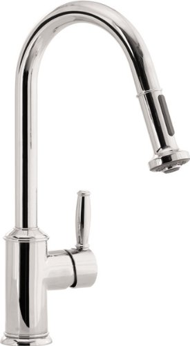 Hansgrohe HG06128860 Swing C Pull-Out Spray Kitchen Faucet ...