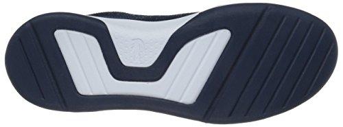 Lacoste Women's Light Spirit 117 3 Fashion Sneaker, Navy, 6 M US