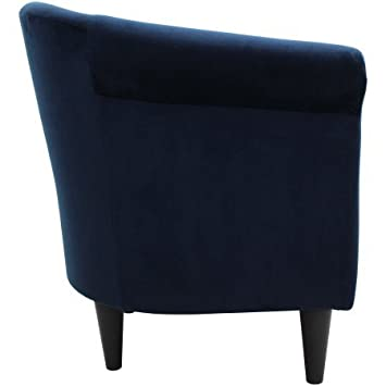 Mainstays Microfiber Bucket Accent Padded Chair