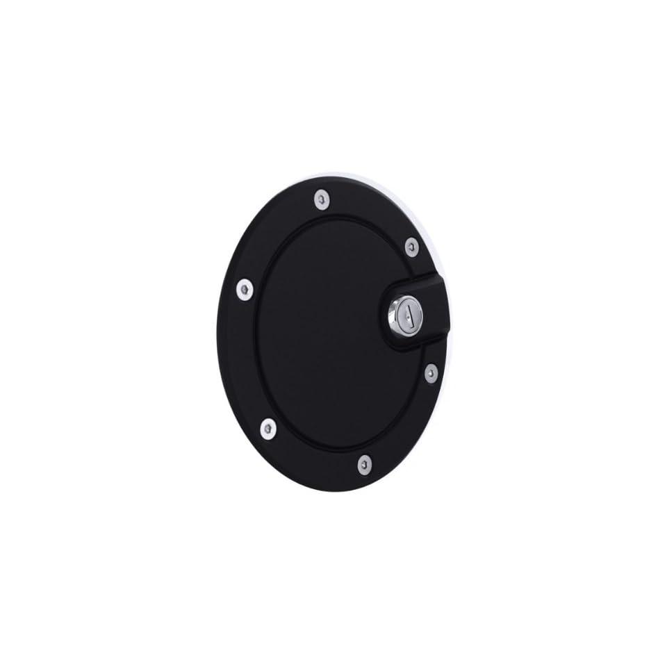 AMI   6053GKL   All Sales Race Style Billet Fuel Dr 5 3/4 Ring O.D. No Door  Gloss Black locking door