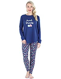 Frankie & Johnny Women's Sleepwear Food Themed Tunic Legging Pajamas Set