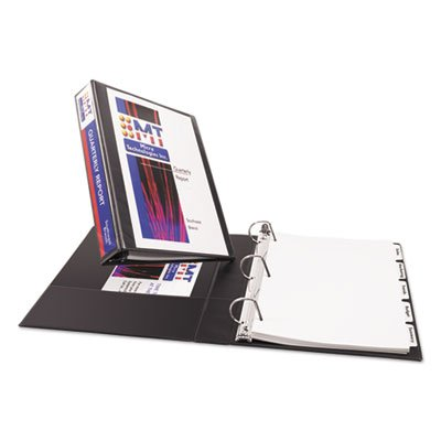 Avery Products - Avery - Durable Vinyl EZ-TURN Ring View Binder, 11 x 8-1/2, 1-1/2