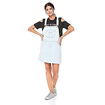 Lee Cooper Overall Jumpsuit for Women - Blue