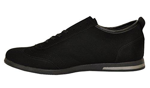 Scarpe da uomo Tamboga CONTEYNER alevros scarpa semi Scarpa lacci scarpa Sneaker, Nero