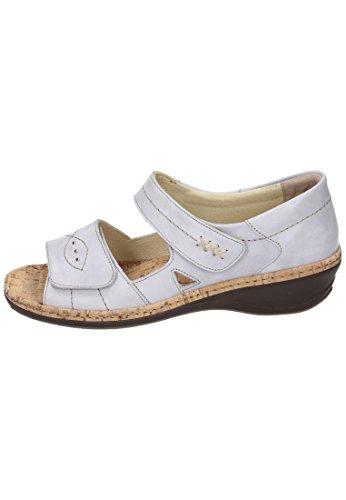 Comfortabel Damen Sandalette - Sandalias de Vestir de Piel Para Mujer muesli