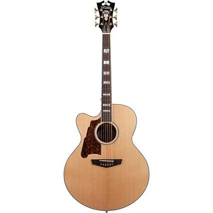 amazon com d angelico guitars excel madison single cutaway jumbo