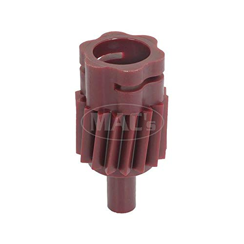 MACs Auto Parts 44-44490 Mustang Speedometer Driven Gear - 16 Teeth - Wine - Type 3A - Genuine - For 3 Speed Manual Or Automatic
