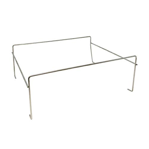 Party Essentials Economy Square Chafing Rack, Wire Buffet Rack Stand, Serving Trays Frame Food Warmer, Chrome (Case of 48)