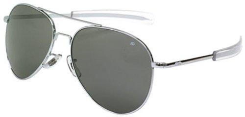 AO Eyewear General Sunglasses 58mm Gray Non-Polarized Optical Glass - Usmc Sunglasses