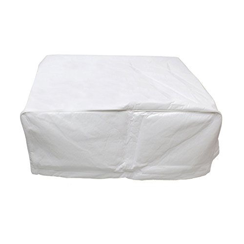 Dumble Camper Air Conditioner Cover for Duo Therm RV Air Conditioner Cover Brisk Air RV AC Shroud, White