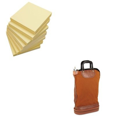 KITPMC04644UNV35668 - Value Kit - Pm Company Regulation Post Office Security Mail Bag (PMC04644) and Universal Standard Self-Stick Notes (UNV35668) ()