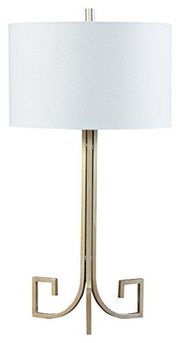 Greek Key 1 Light (Signature Design by Ashley L207124 Jankin Table Lamp, 16