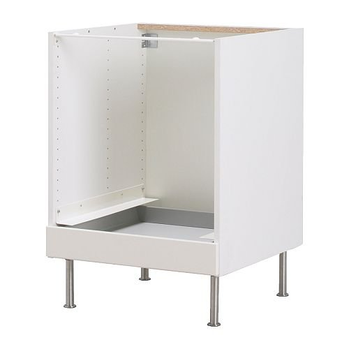 IKEA FAKTUM - Mueble bajo para horno, Stat-off blanco - 60 cm ...