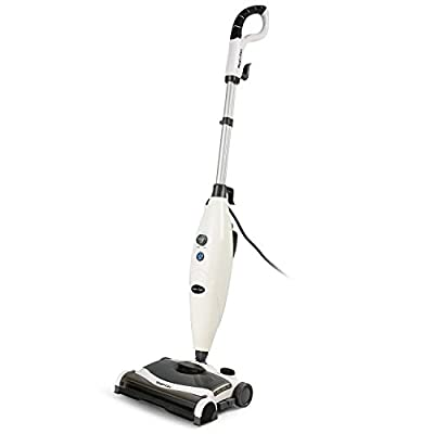INLIFE Steam Pocket Mop and Sweeper Cleaner All-in-One with 2 Mop Pads for Hard Wood Floors, Tile, Laminate