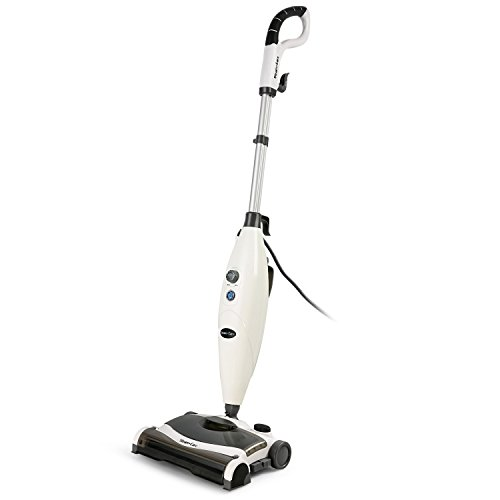 INLIFE Steam Mop and Sweeper Cleaner All-in-One with 2 Mop Pads for Hard Wood Floors, Tile, Laminate (Steam Wood)