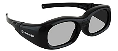 G7 Black Small Universal 3D Glasses by Quantum3D
