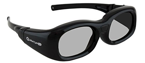G7 Black Small Universal 3D Glasses by Quantum3D